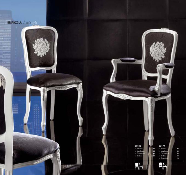 Brianzola brianzola capotavola giovannini sedie - Sedie capotavola ...